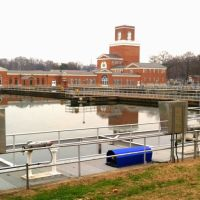 The Dalecarlia Reservoir and Water Treatment Plant, Washington Aqueduct, MacArthur Blvd, Washington DC, Брукмонт
