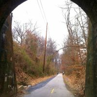 Dalecarlia Tunnel, Capital Crescent Trail, MacArthur Blvd, Bethesda MD, Брукмонт