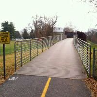 Capital Crescent Trail, near the Dalecarlia Reservoir and Water Treatment Plant, MacArthur Blvd, Bethesda MD, Брукмонт