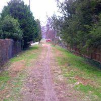 Glen Echo Trolley path, Palisades, Washington DC, Брукмонт
