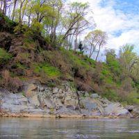 Potomac River near Chain Bridge & Little Falls, McLean VA, Брукмонт