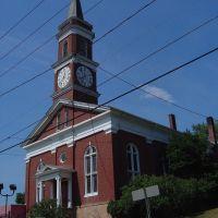 Town Clock Church- Cumberland MD, Камберленд