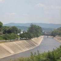 Canal, Cumberland, Maryland (USA) - June 2010, Камберленд