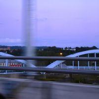 Suspension Bridge in Cumberland, Maryland, Камберленд