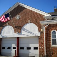 Catonsville Fire Station 4, Historic National Road, 756 Frederick Rd Catonsville MD, circa 1920s, Катонсвилл