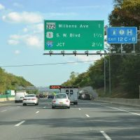 Wilkens Avenue 1 Mile Ahead, Interstate 695, Southbound, Катонсвилл