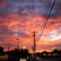 Sunset - St. Louis, MO - Sept 8 2011 - 5:30 pm, Колмар-Манор