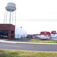 Water tower of Crisfield, Maryland, Крисфилд