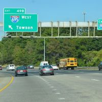 Exit 49B off Interstate 95, Northbound, Лансдаун