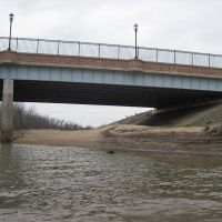 The Western end of the route 1 bridge over the Anacostia, Норт-Брентвуд