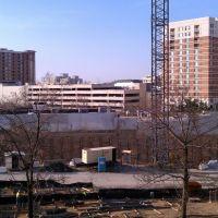 From Bonifant/Dixon parking garage looking South. 2011-03-18., Такома-Парк