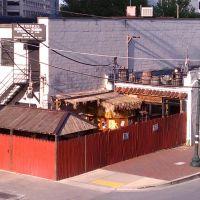 Piratz Tavern from Bonifant/Dixon parking garage, Такома-Парк