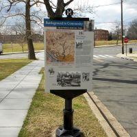 Brightwood Heritage Trail historical marker, Quackenbos St NW, Washington DC, Такома-Парк