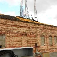 remains of the Brightwood Car Barn, Georgia Ave NW, Washington, DC, Такома-Парк