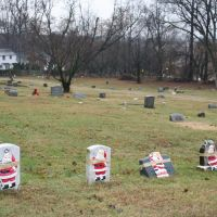 Mt. Olive Baptist Cemetery, Towson MD: Xmas 2005, Таусон