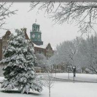 Towson University - winter Stephens Hall, Таусон