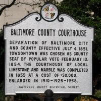 Baltimore County Courthouse, Таусон