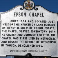 Epsom Chapel, Таусон