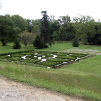 Garden at Hampton Mansion, Baltimore, MD, Таусон