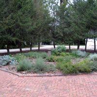 Herb garden at Hampton Mansion, Baltimore, MD, Таусон