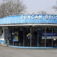 Duncan Brothers Tire Co, National Pike, U.S. Route 40, 817 Dual Highway, Hagerstown, MD, Хагерстаун