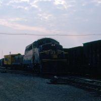 Western Maryland Railway EMD BL2 No. 7171 and Slug No. 139T at Hagerstown, MD, Хагерстаун
