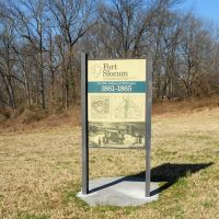 Fort Slocum historical marker, Civil War Defenses of Washington, 1861-1865, Fort Slocum Park, 5700 Kansas Avenue NW, Washington DC, Чиллум