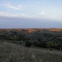 NE View in Dry Valley, Custer Co, NE, Беллив