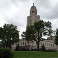 Nebraska State Capitol in Lincoln, NE, Линкольн
