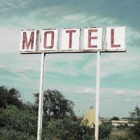 Motel ,Sign Milford, NE, Милфорд