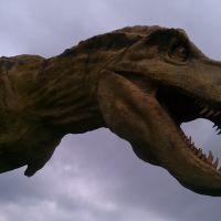 Dinosaur Museum I-80 Dinosaur head, Милфорд