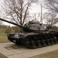 Tank in Steinhart Park, Небраска-Сити