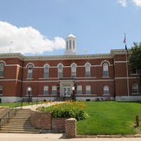 Otoe Co. Courthouse (1865) Nebraska City, Neb. 6-2009, Небраска-Сити