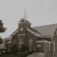 First United Methodist Church of Nebraska, Nebraska City, 1856, Небраска-Сити