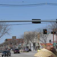 1st St and Norfolk Avenue, Norfolk, Nebraska., Норфолк