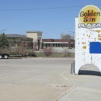 Golden Sun Plaza on N 4th St, Norfolk, Nebraska, Норфолк