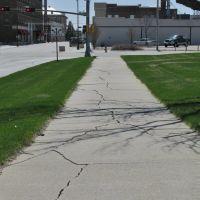 Intersection of W Braasch Ave &  N 4th St, Norfolk Nebraska, Норфолк