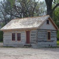 Cabin at Elkhorn Valley Museum, Норфолк
