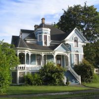 Albany, Queen Anne style home, Historical District, Олбани