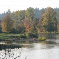 Willamette River, Albany, Oregon, Олбани