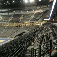 Inside CenturyLink Center Omaha (known as Qwest Center Omaha at the time of this Photo), Downtown Omaha Nebraska - You Can See the New Seats which had just added to the North end Upper Deck in 2006, Омаха