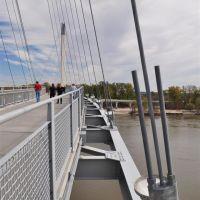 Bob Kerrey Pedestrian Bridge, Missouri River, Omaha, NE, Омаха