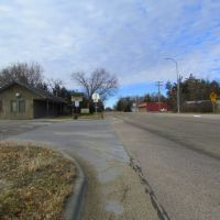 Viewing west on Neb. State Hwy. 2, at intersection with Purdum Ave. Halsey, Nebraska, Оффутт база ВВС