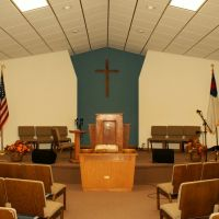 Comstock, NE: Wescott Baptist, Оффутт база ВВС