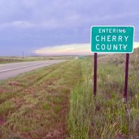 Entering Cherry County,  Nebraska, Оффутт база ВВС