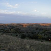 NE View in Dry Valley, Custer Co, NE, Оффутт база ВВС