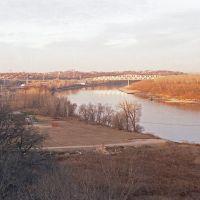Old South Omaha Bridge - 1981, Omaha, NE, Папиллион