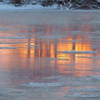 Sunrise reflection, Папиллион