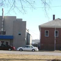 Papillion, NE: former Papio Theatre and Masonic Lodge (2009), Папиллион