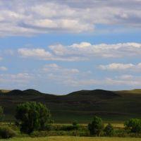 Sand Hills, Western Nebraska, Скоттсблуфф